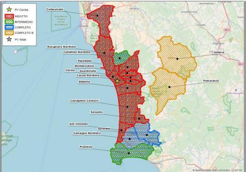 Esempio di Geomarketing toscana